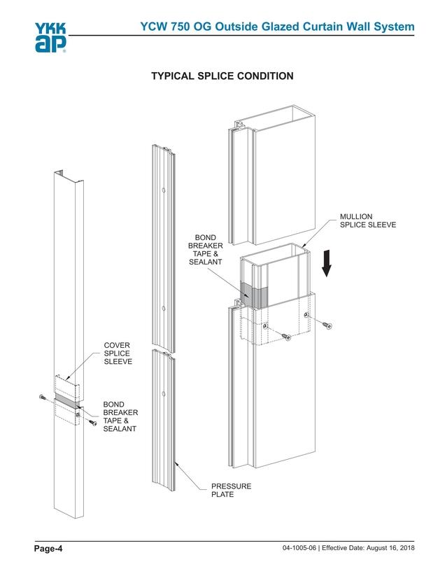 ykk design manual ycw 750 og ogp