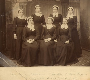 Elizabeth Fedde and other deaconess in Minneapolis