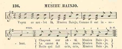 Musieu Bainjo (Slave Songs of the United States)