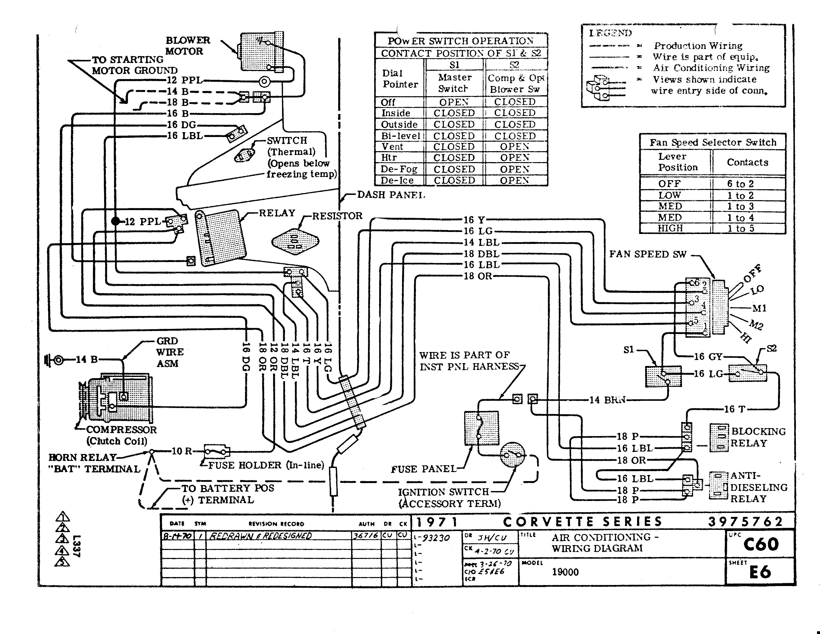 71 Ac Wiring Diagram