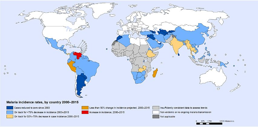 Global Map Malaria