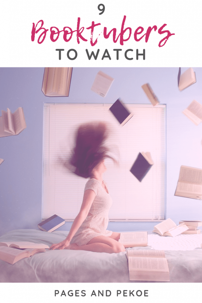 9 Booktubers to Watch || Pages and Pekoe