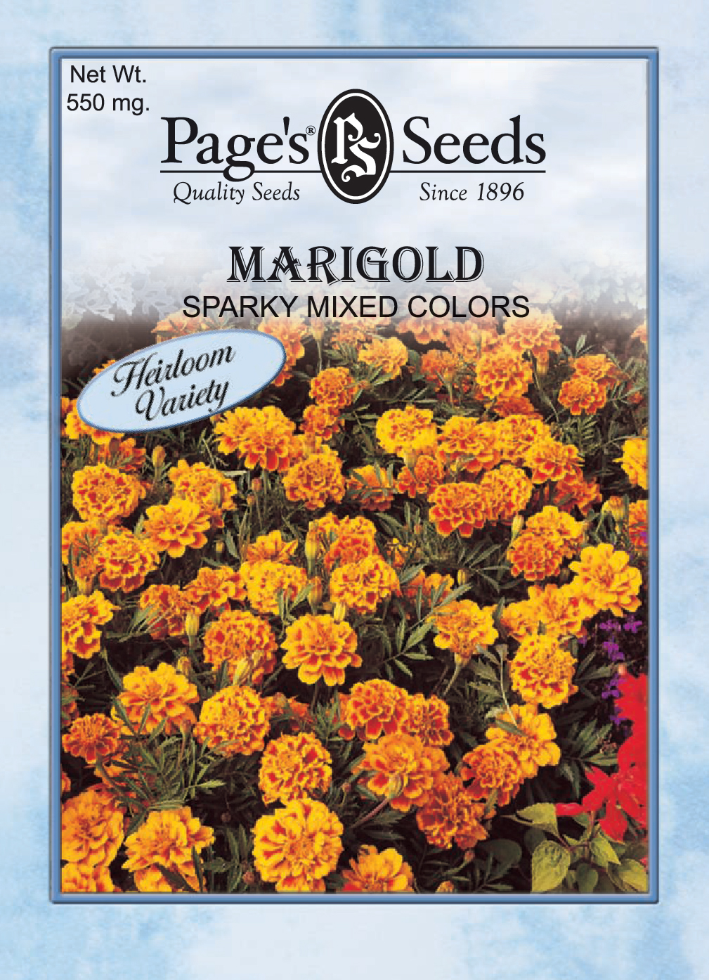 marigold sparky mixed colors