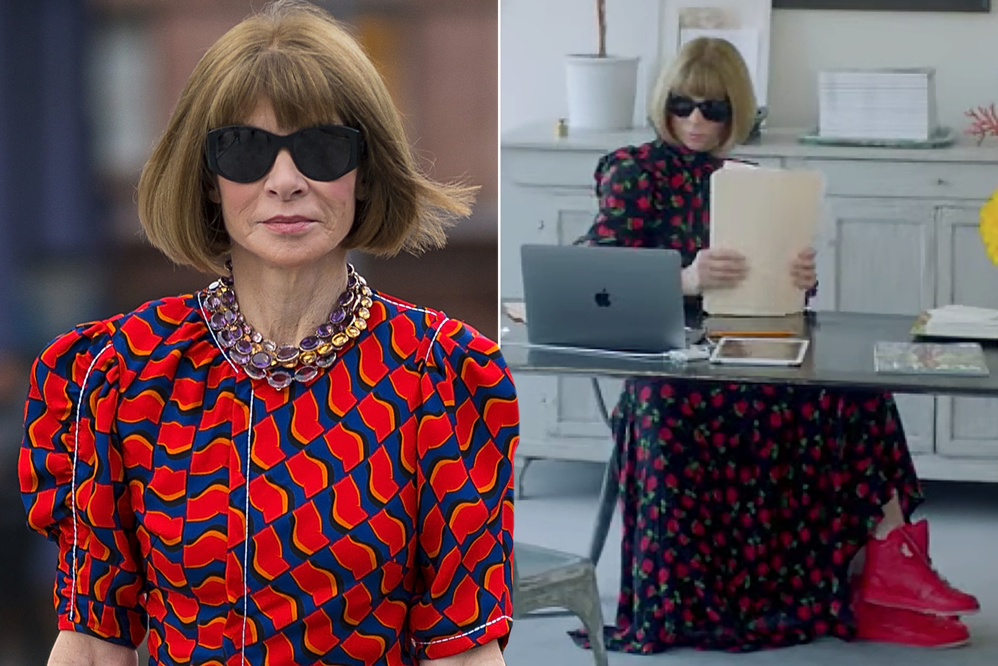 Anna Wintour collaborates with Nike on