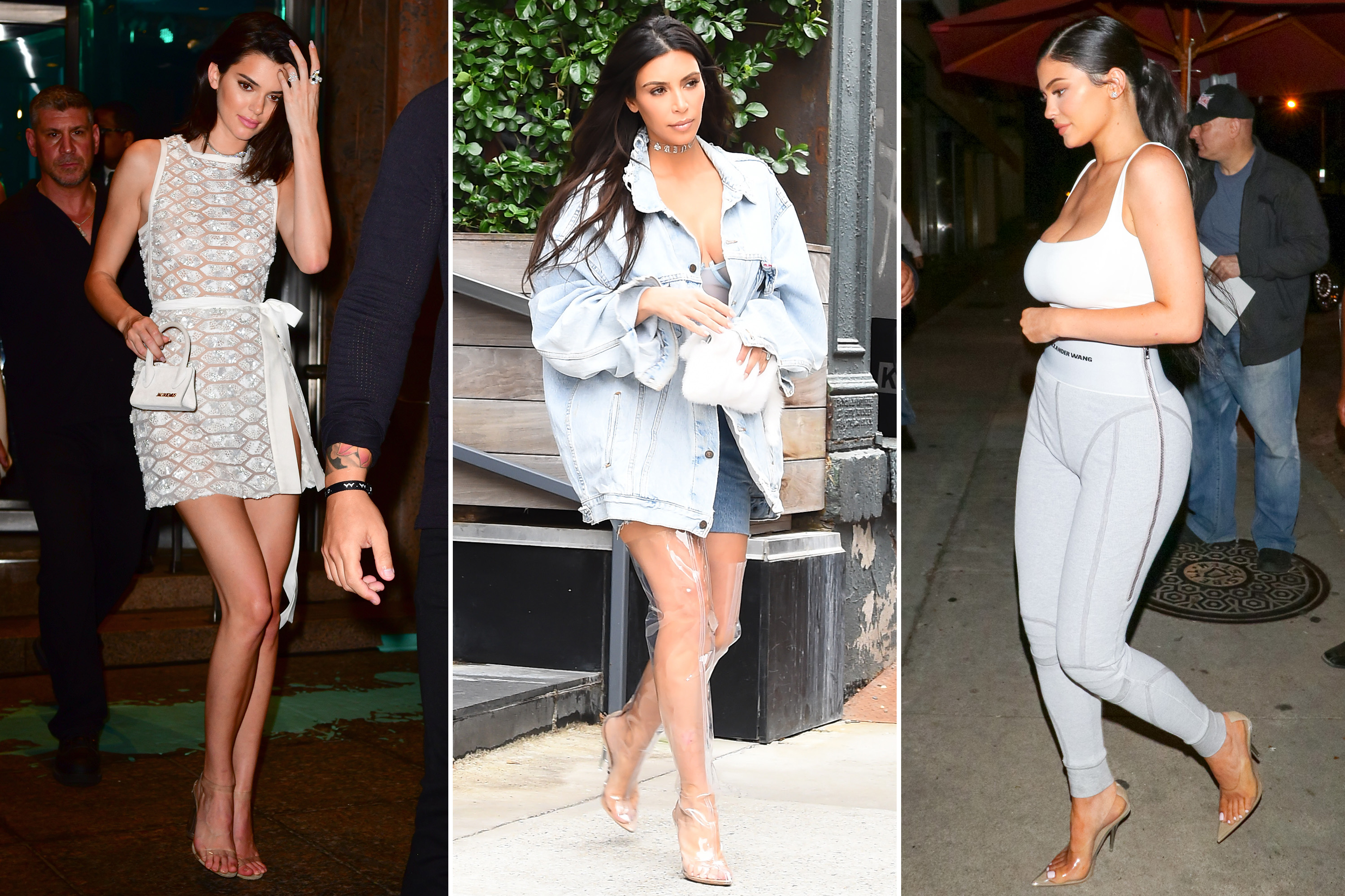 Kardashian Approved Clear Plastic Shoes Are A Serious Risk Doctor Says