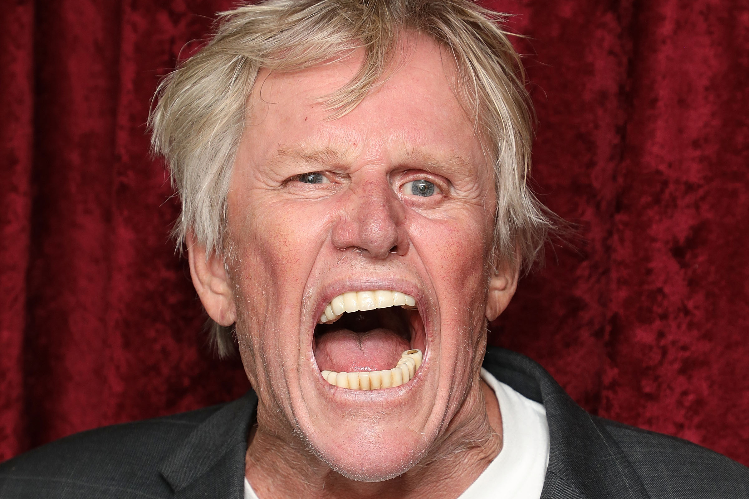 Gary Busey has an odd way of smiling for the camera and more star snaps |  Page Six