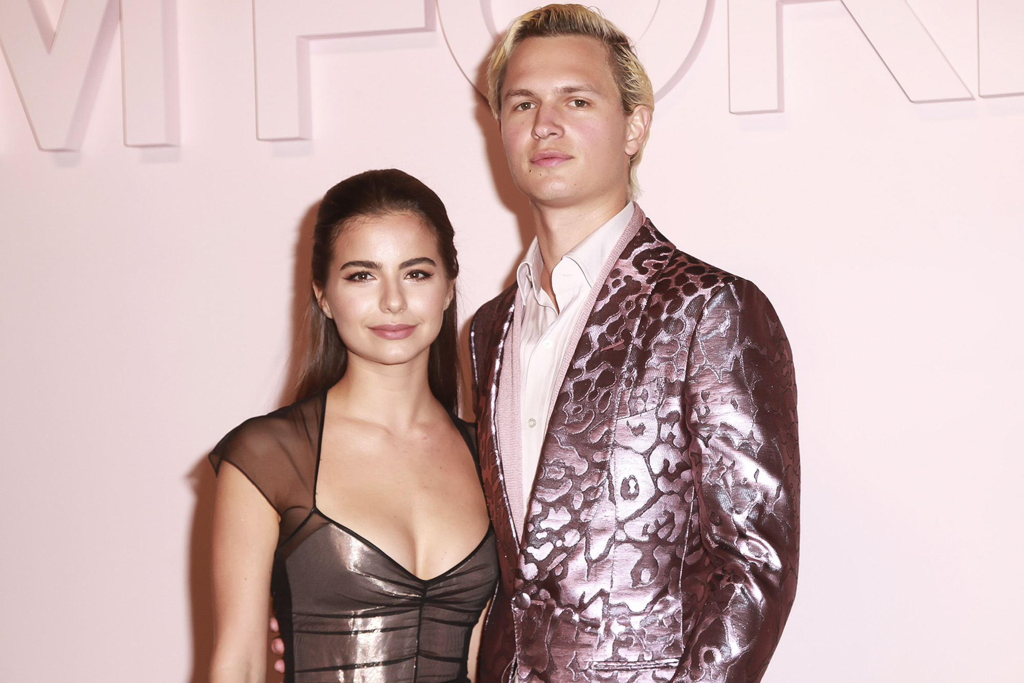 Ansel Elgort And Girlfriend Violetta Komyshan Wow At Ballet Event