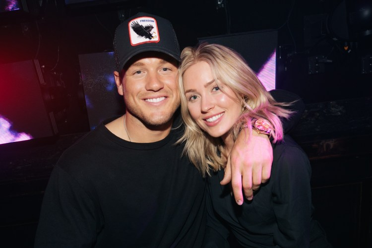 'The Bachelor' couple Colton Underwood and Cassie Randolph ...