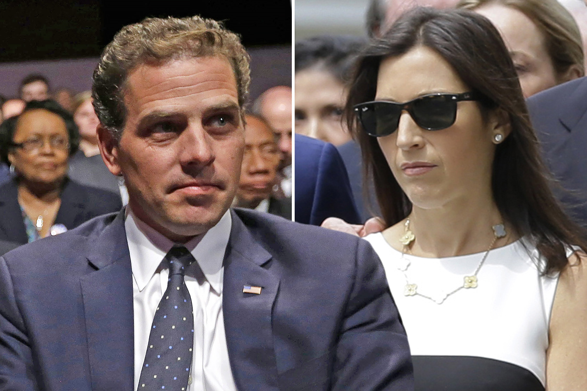 Hunter Biden Started Dating Beau Biden S Widow After Crack Binge