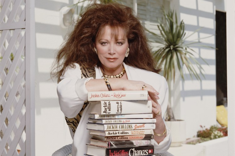 Jackie Collins documentary 'Lady Boss' in the works | Page Six
