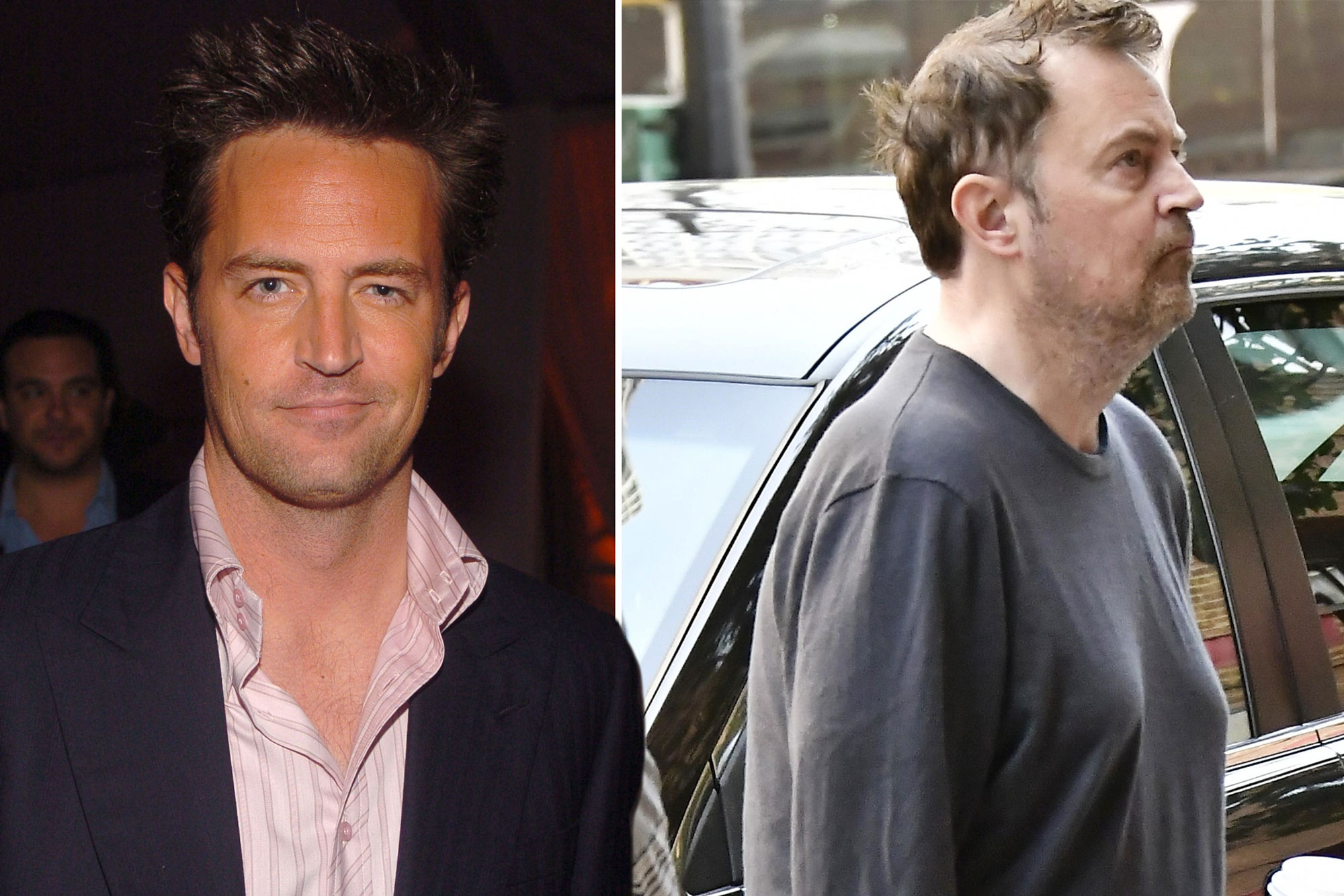 The Evolution Of Matthew Perry Page Six