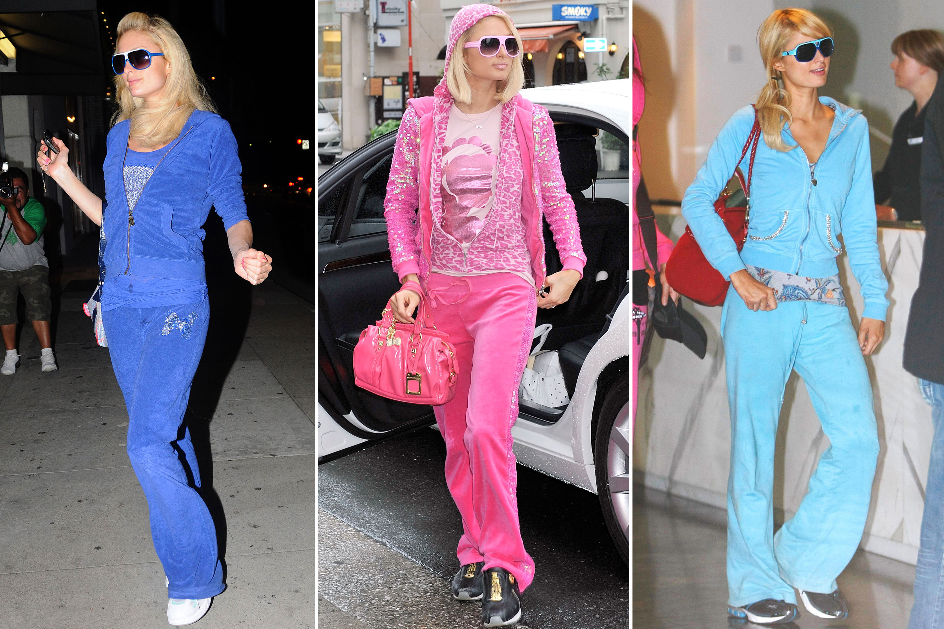 Paris Hilton Says She Owns 100 Juicy Couture Tracksuits