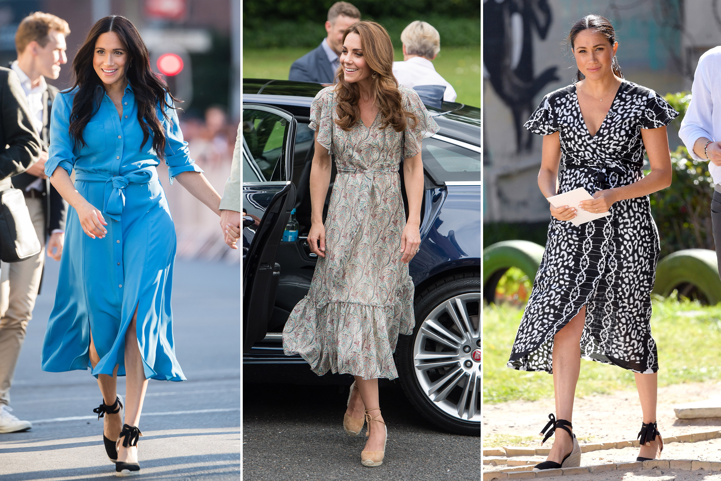 Kate Middleton and Meghan Markle's