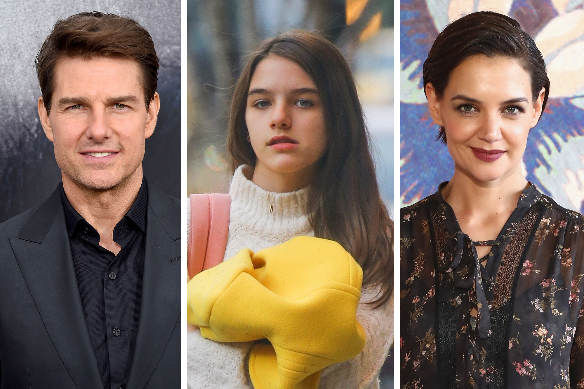 Suri Cruise Looks Just Like Her Parents And More Star Snaps Page Six