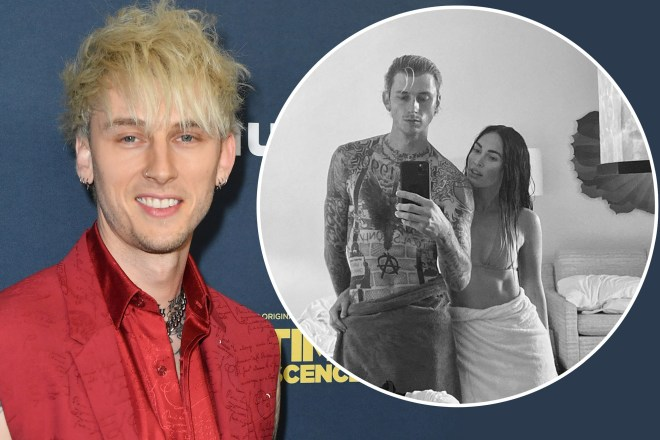 Machine Gun Kelly says he's 'locked in forever' with Megan Fox