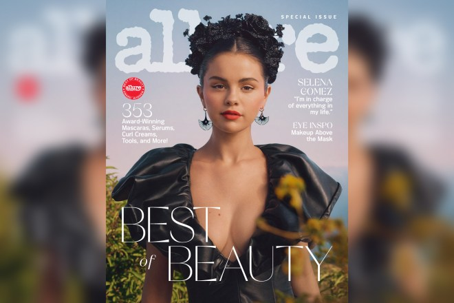 Selena Gomez does her own makeup for Allure cover using Rare Beauty