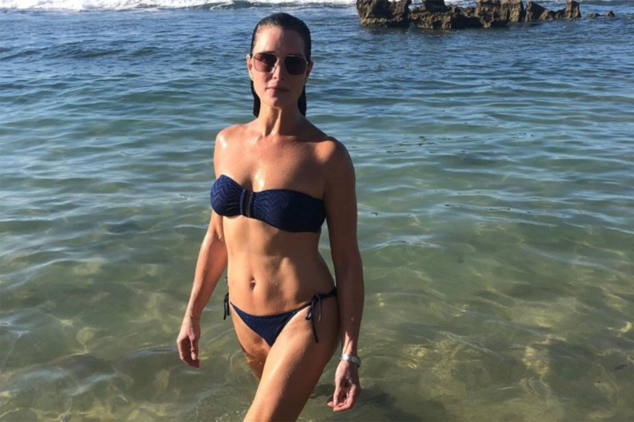 Brooke Shields wears a bikini to prove 'women over 50 are not done'