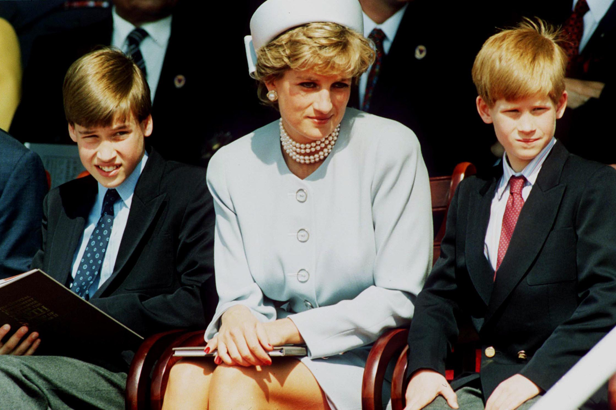 Prince William and Prince Harry will be at odds over  report