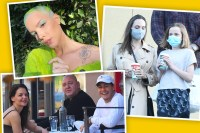 Best star snaps of the week: Angelina Jolie, Katie Holmes and Halsey