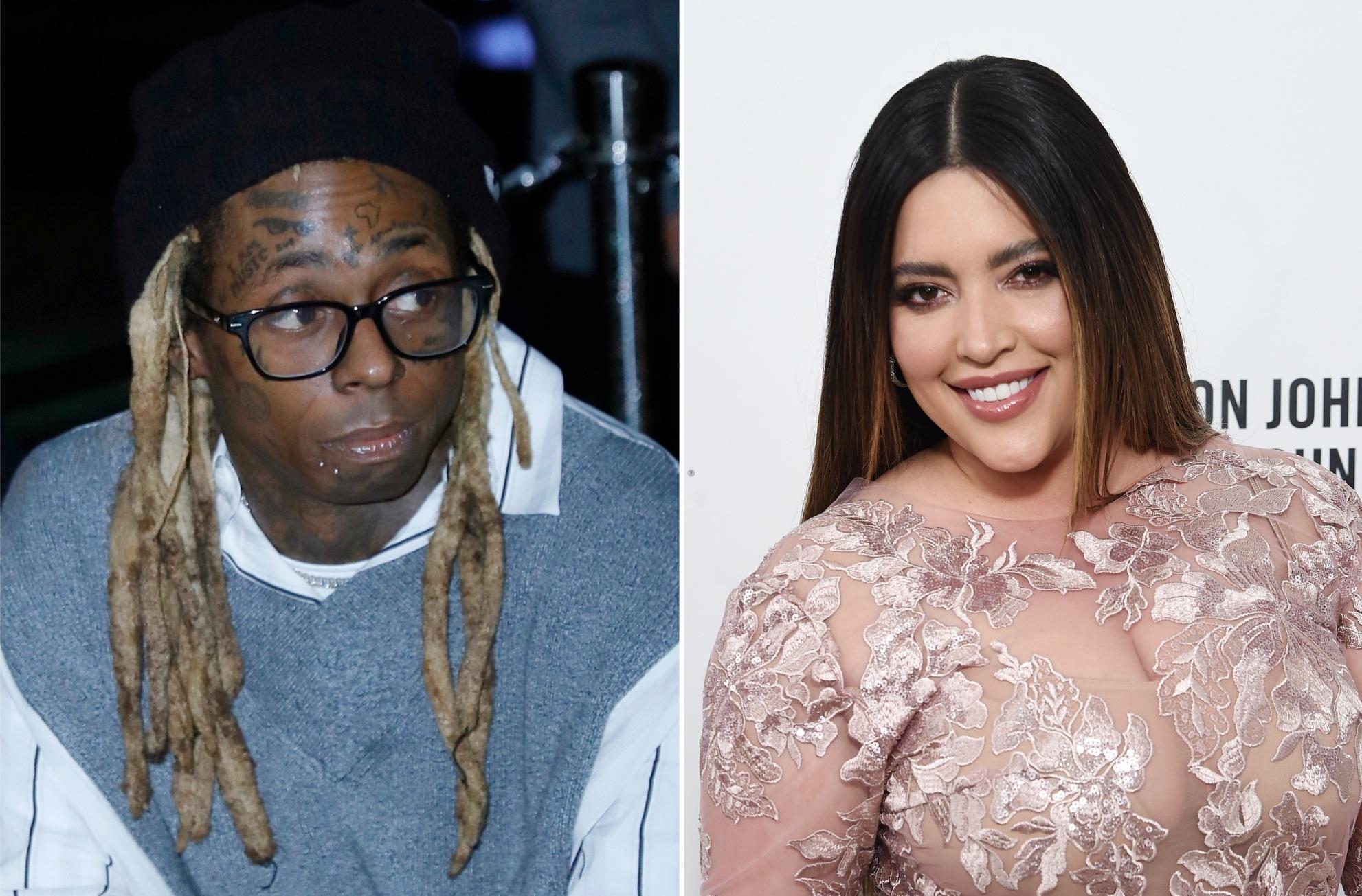 Lil Waynes model girlfriend dumps rapper over Trump