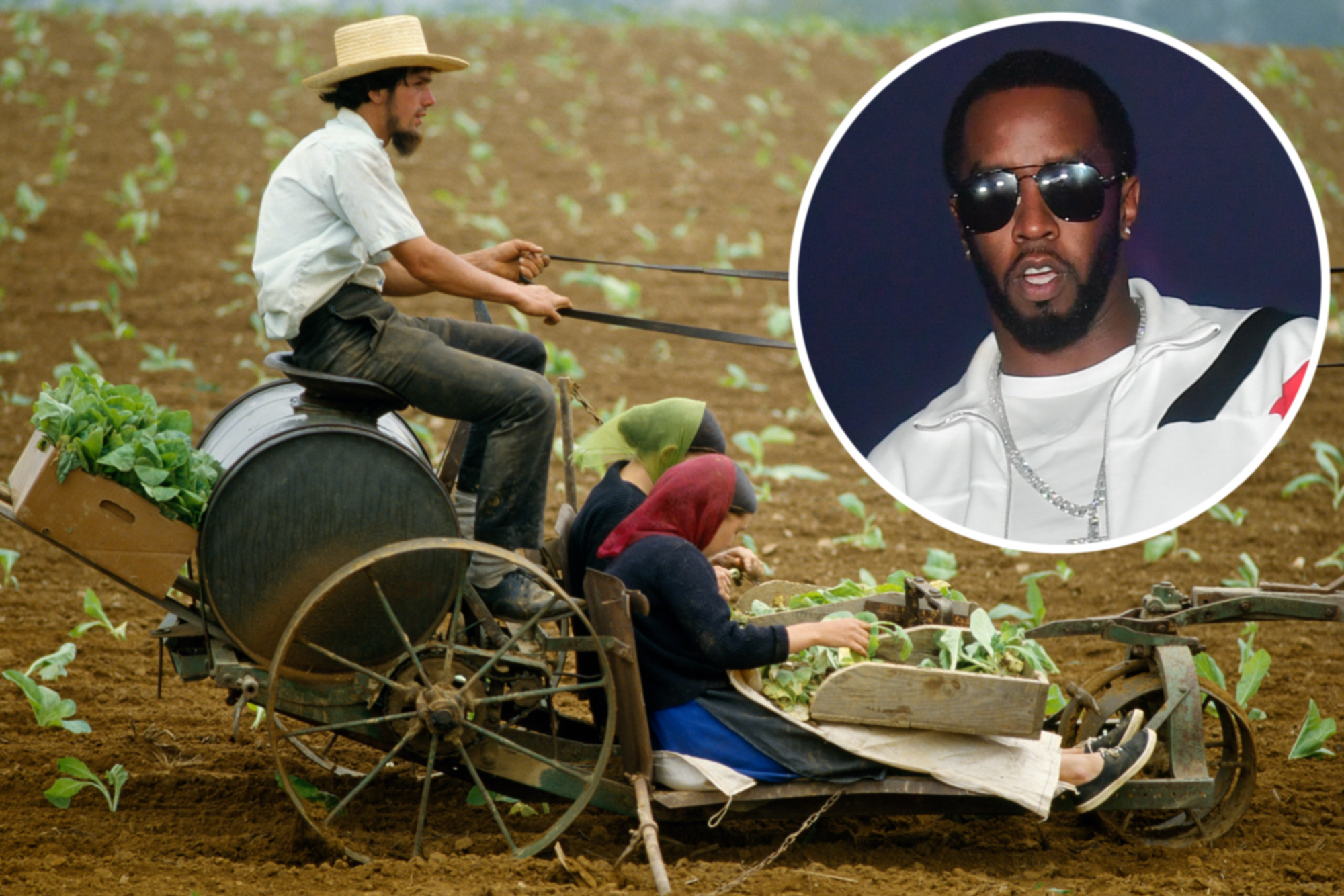 Sean Combs once spent a 'life-changing' summer with the Amish