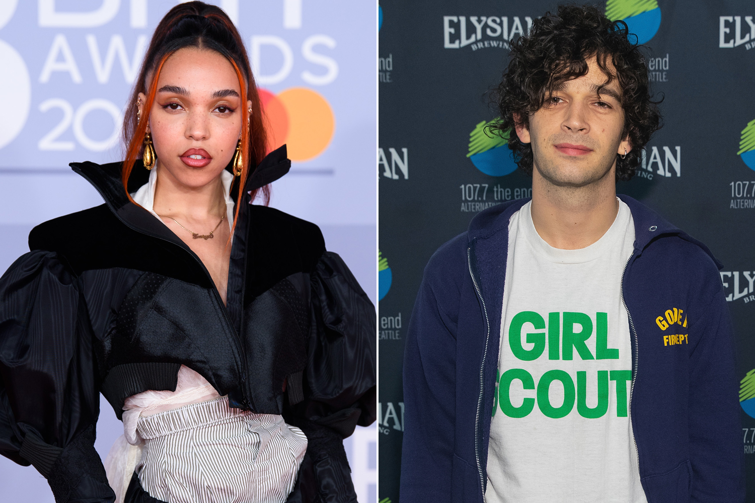 Matty Healy praises girlfriend FKA Twigs amid Shia LaBeouf lawsuit