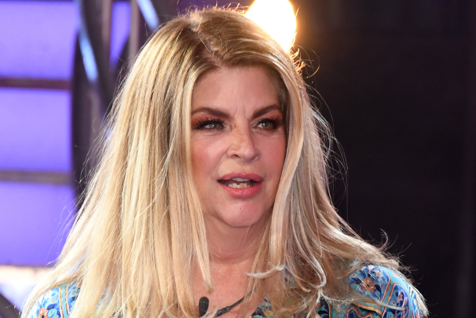 Kirstie Alley rips Twitter, compares Trump's ban to 'slavery'