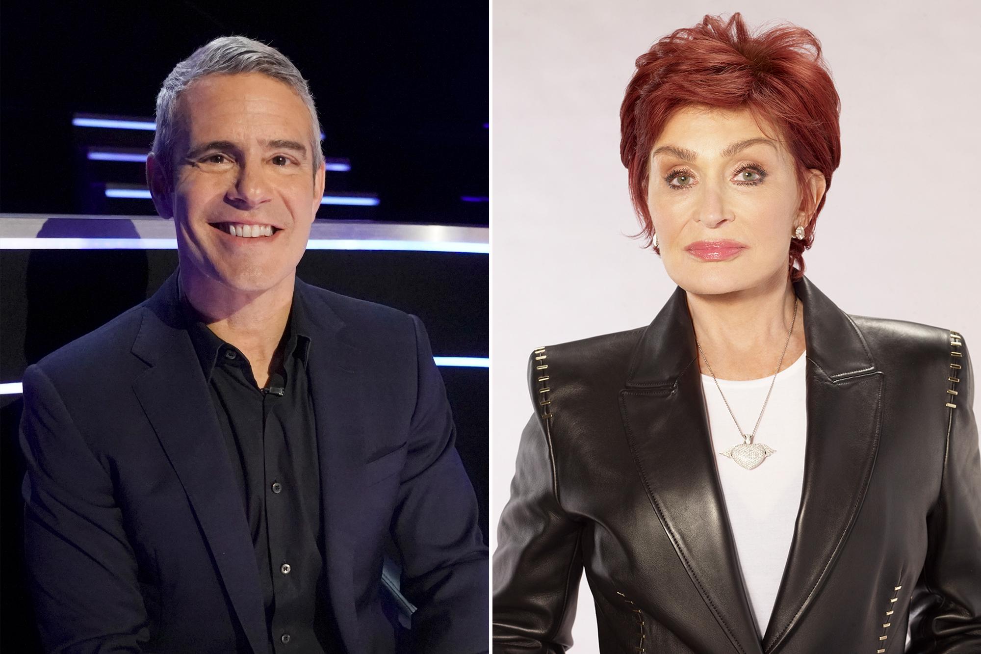 The Talk Should Let Sharon Osbourne Combat Racism Claims Andy Cohen