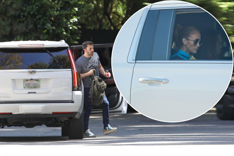 Jennifer Lopez, Ben Affleck hang out after Alex Rodriguez split