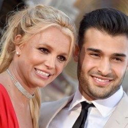Britney Spears' Boyfriend Sam Asghari Wears #FreeBritney Shirt Ahead Of Hearing