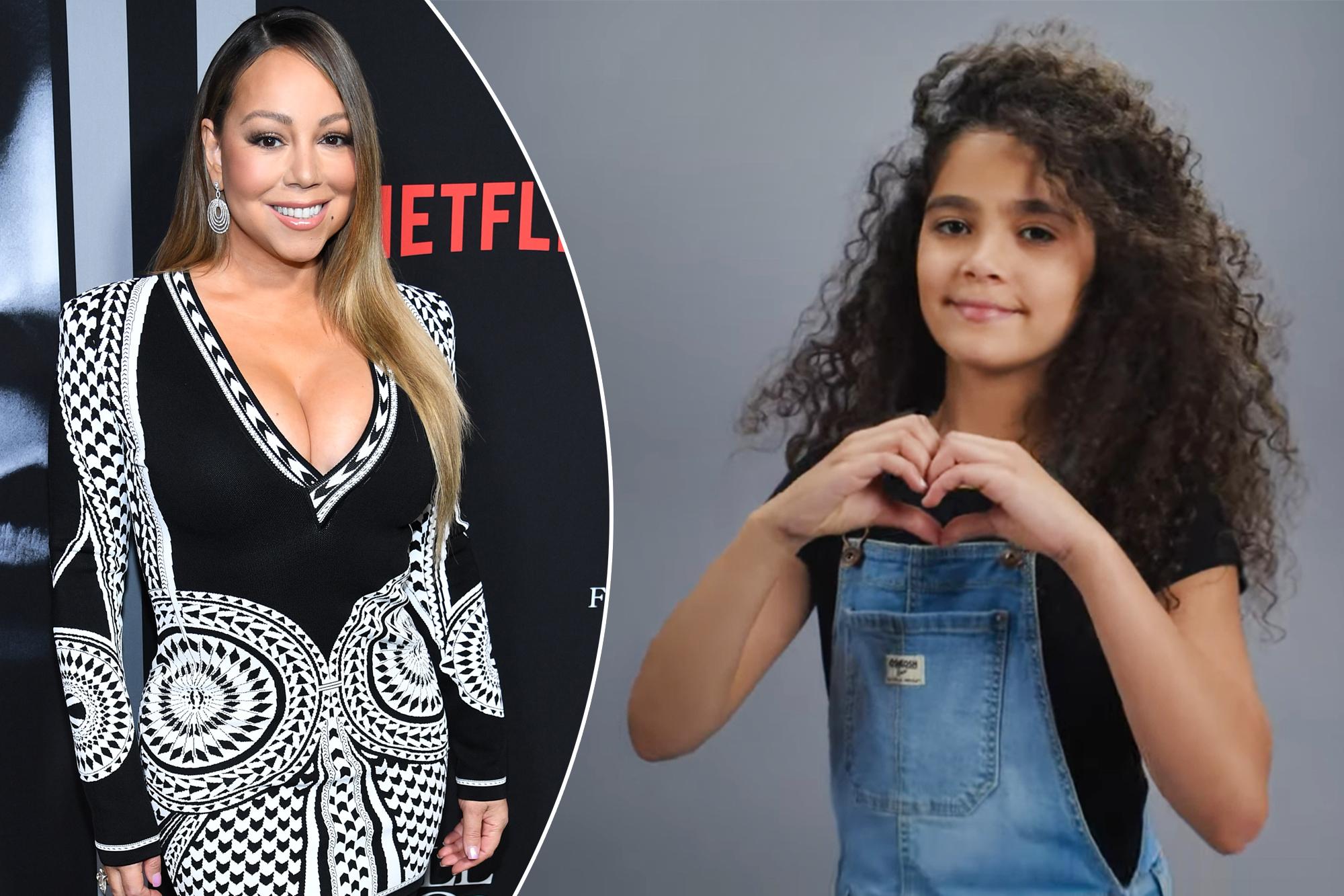 Mariah Carey's daughter Monroe, 20, makes modeling debut