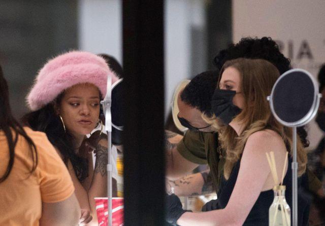 Exclusiva: Rihanna y ASAP Rocky celebran su día de los mil millones de dólares, Nueva York, EE. UU., 4 de agosto de 2021