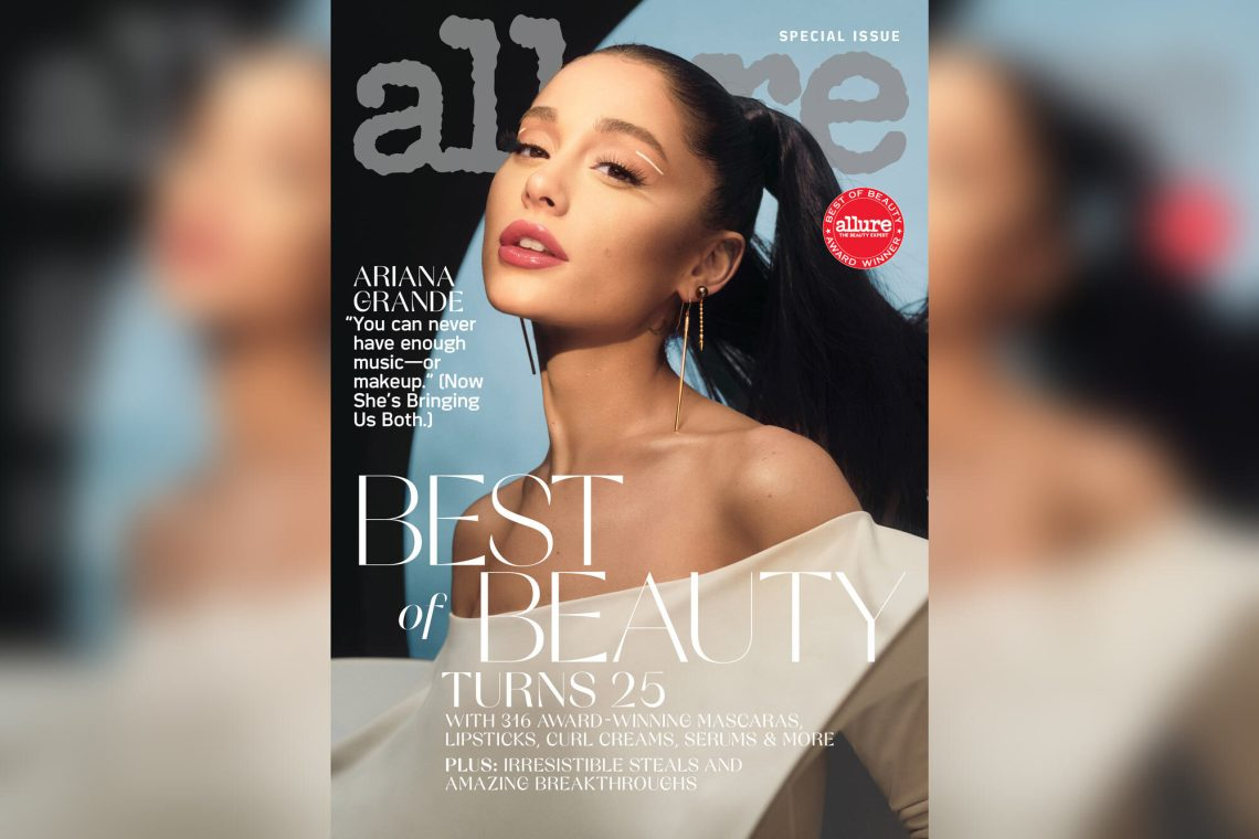 Ariana Grande on the cover of Allure