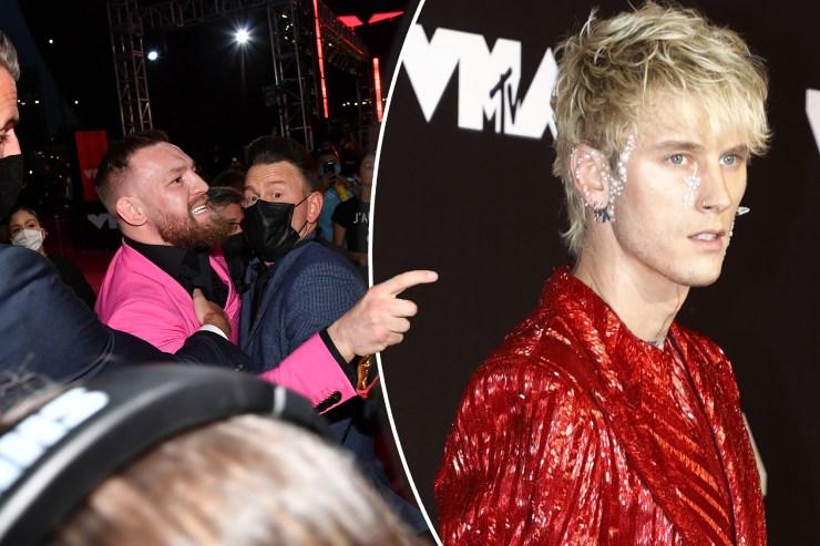 Conor McGregor calls Machine Gun Kelly a 'vanilla boy rapper' after fight