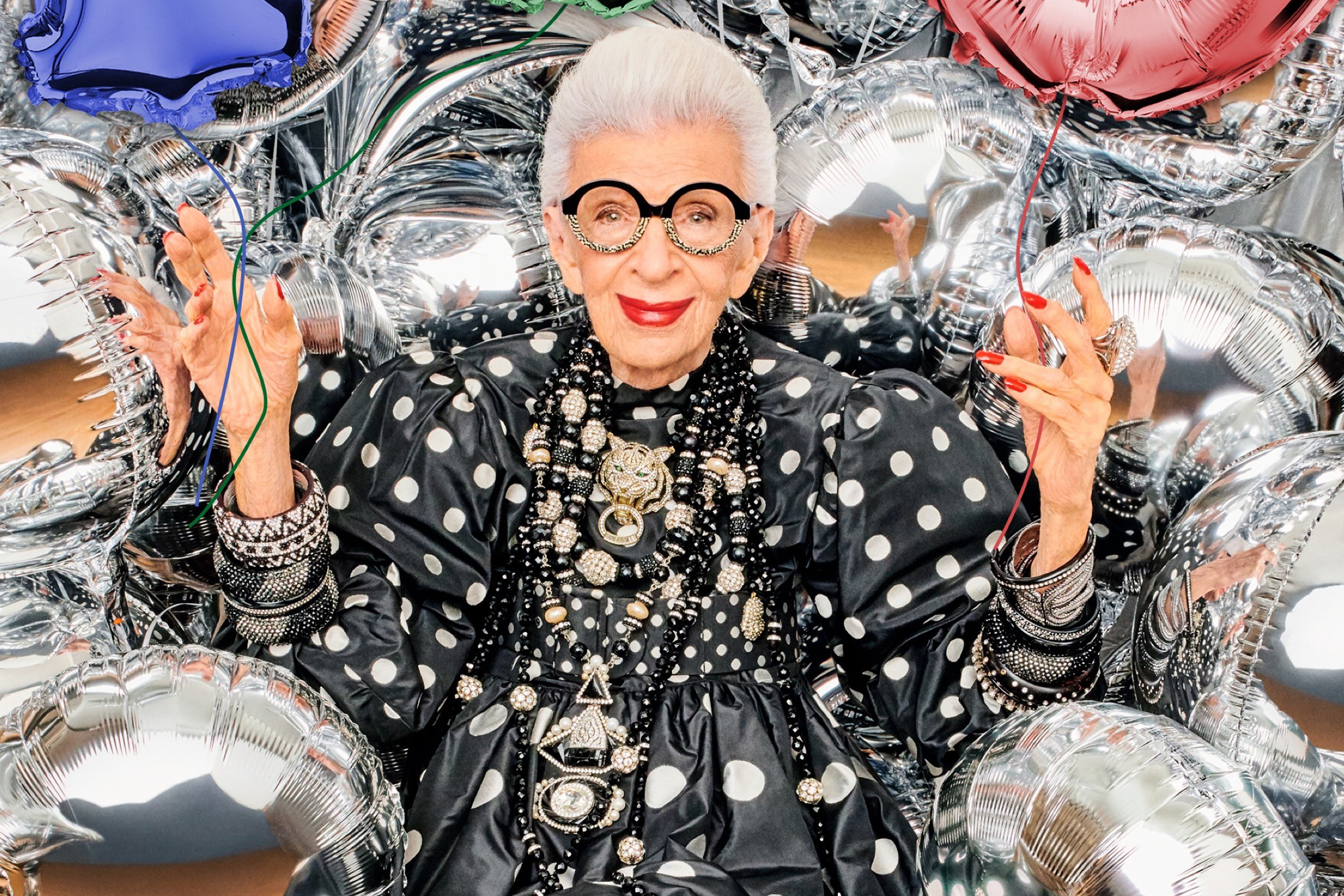 Iris Apfel on style, plastic surgery and turning 100