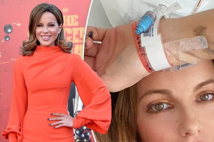 Kate Beckinsale says she's 'feeling a lot better' amid hospitalization