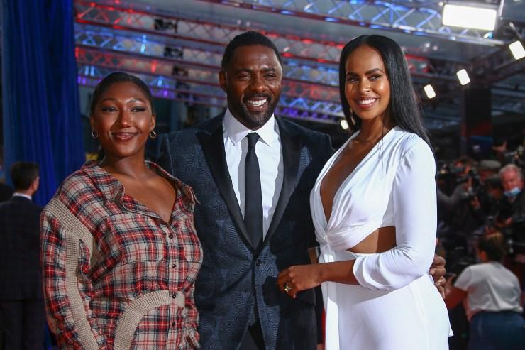 Isan Elba,Idris Elba,Sabrina Dhowre Elba