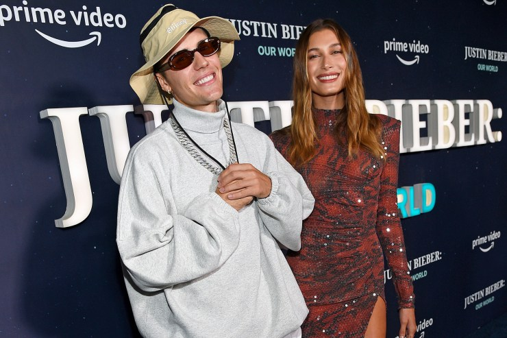 Justin Bieber tells Hailey Baldwin he's ready to 'start trying' for a baby in new doc