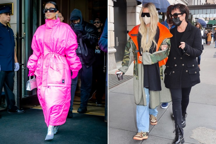 Kim Kardashian hits NYC for 'SNL' with Kanye, Kris and Khloé in tow
