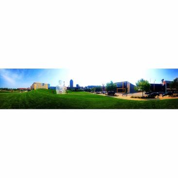Panoramic of Downtown Des Moines