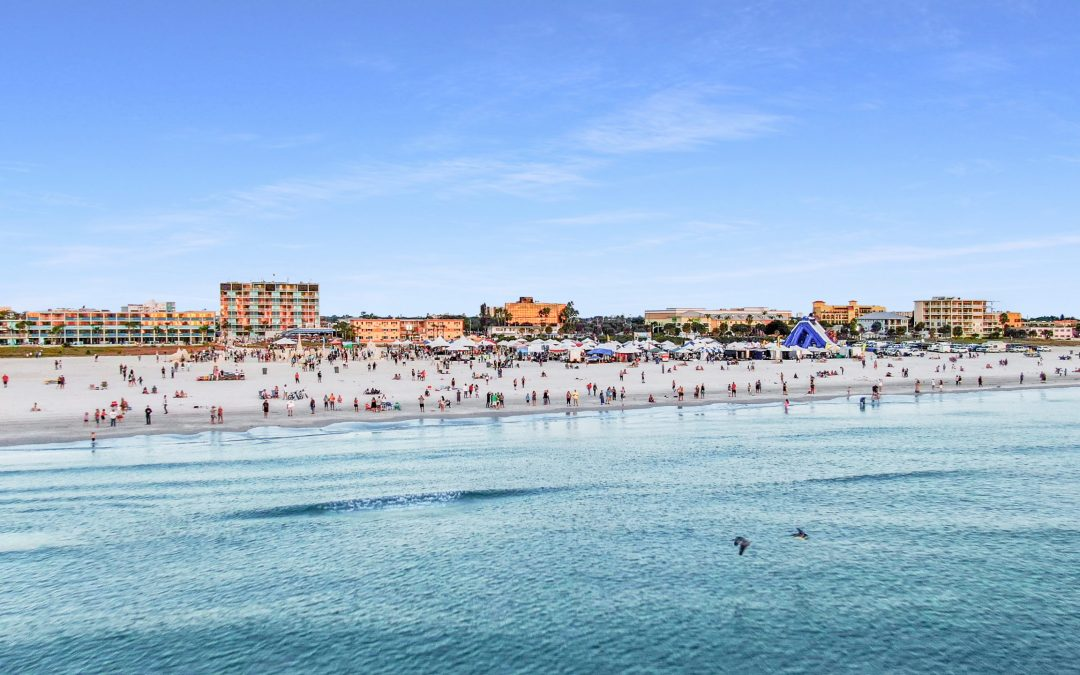 Treasure Island, Florida Has Been Rated in the Top 25 Beaches in the United States