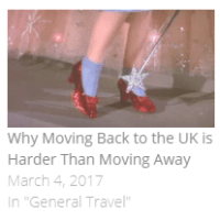 moving back home and reverse culture shock