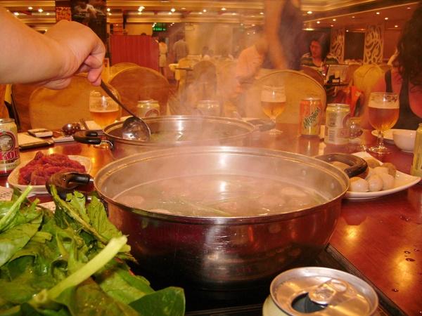 Chinese Hot Pot Restaurant in Hong Kong