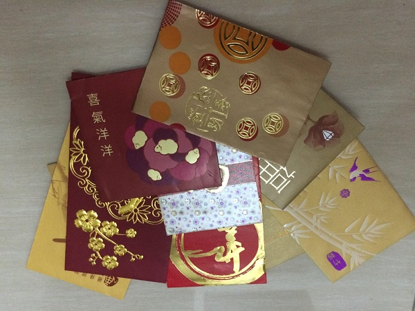 Chinese New Year lai see red envelopes