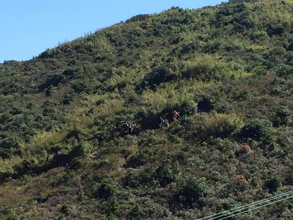 Hiking the MacLehose Trail in the New Territories in Hong Kong