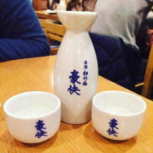 Sake in Osaka, Japan
