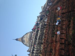 Burma Budget and My Myanmar Travel Tips - Sunset at the Most Popular Temple