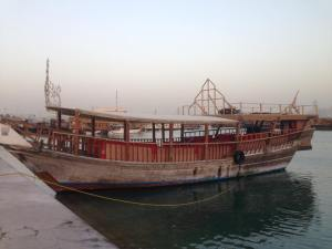 24 Hours in Qatar, A Long Layover in Doha - dhow boats