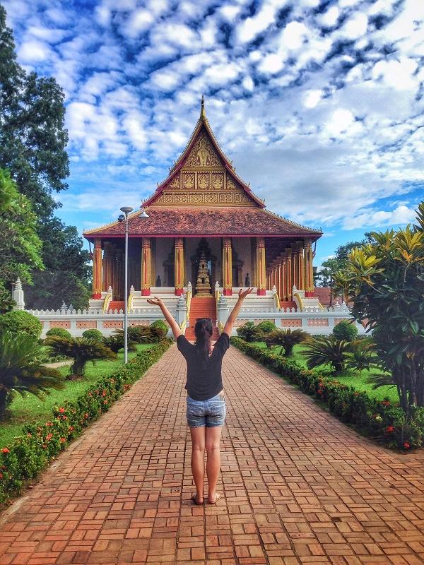 Haw Pha Kaew temple, Vientiane, Laos