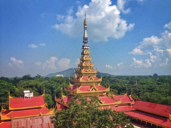 Mandalay Palace, Myanmar